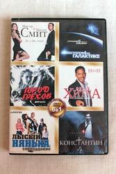 Диск с фильмами DVD издание 6 в 1